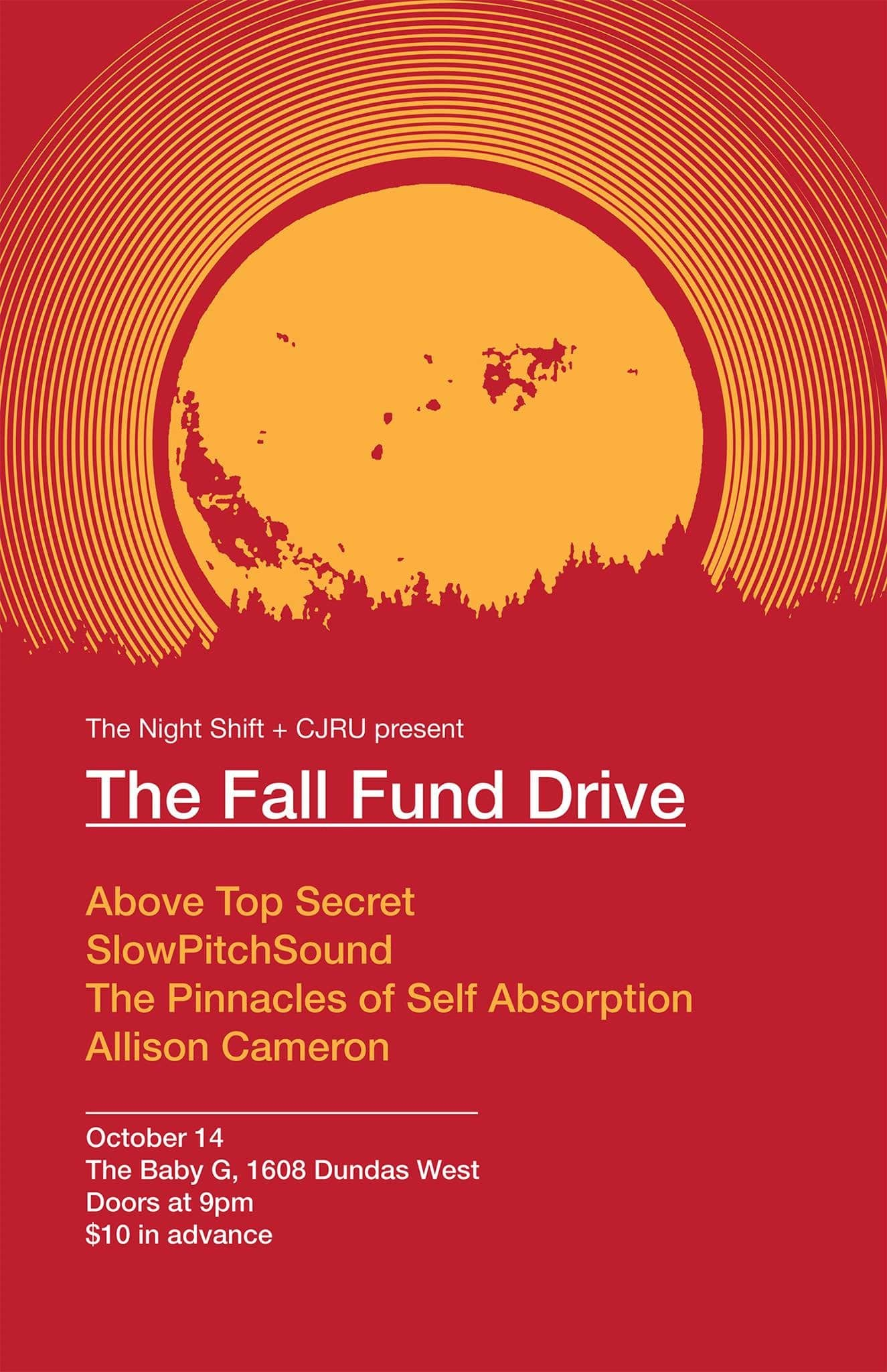 Featured Image for CJRU 1280AM Fund Drive courtesy of Jakob Rehlinger  | CJRU