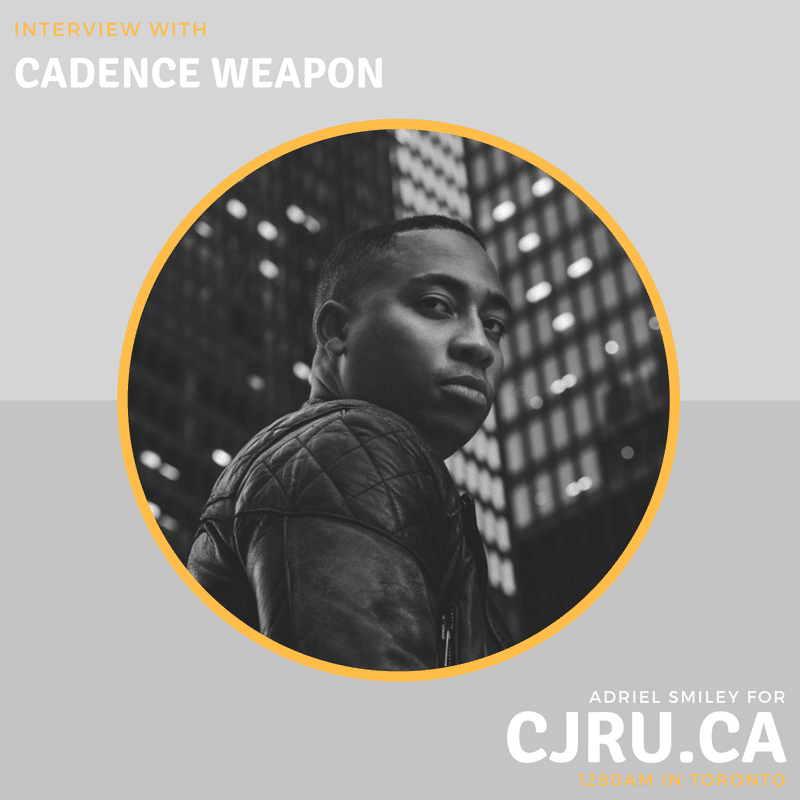 Featured Image for NXNE 2018: Cadence Weapon courtesy of Mark Sommerfeld  | CJRU