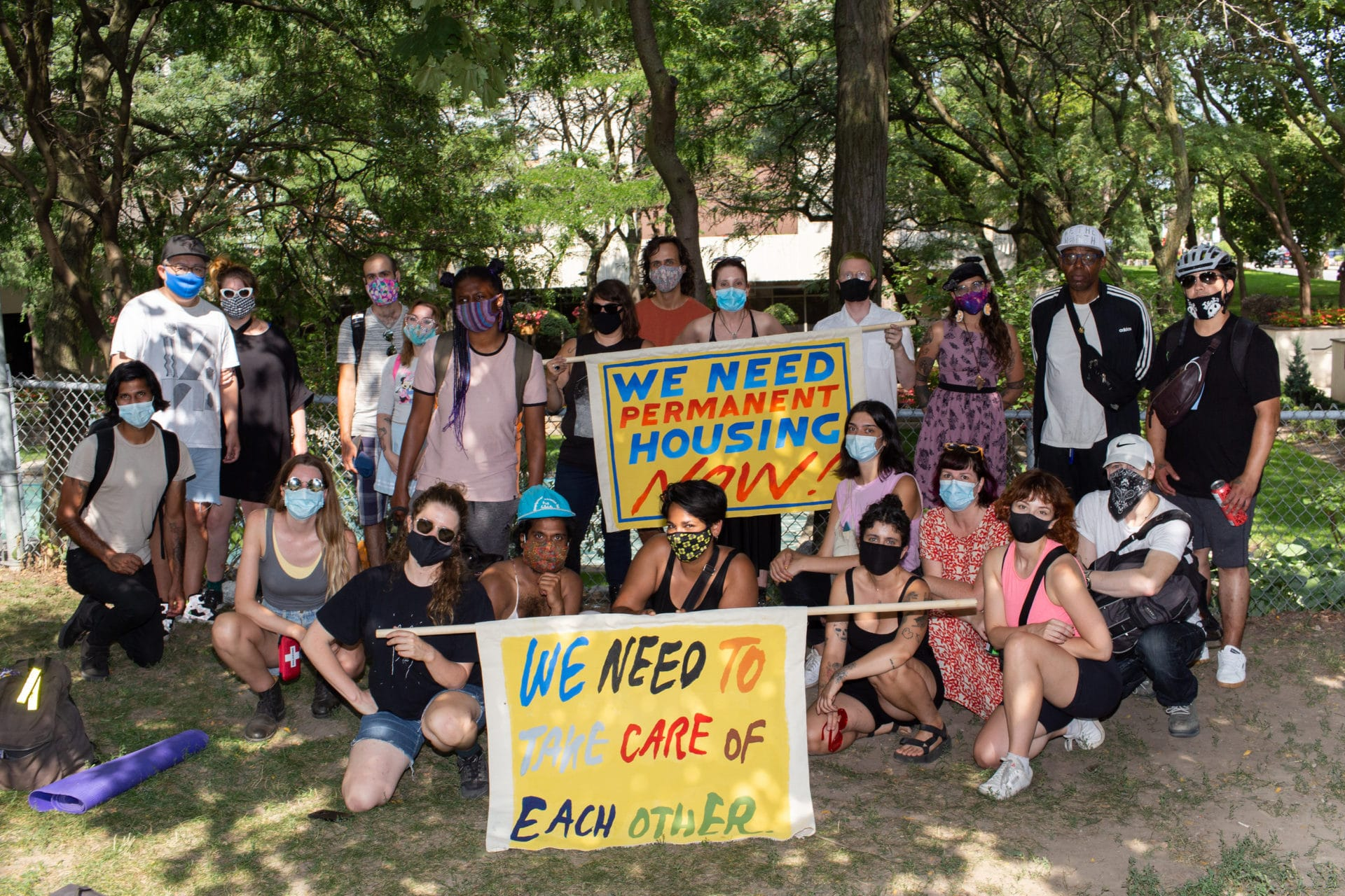 Featured Image for Community to march for dignified housing in Moss Park this Wednesday courtesy of Jeff Bierk  | CJRU