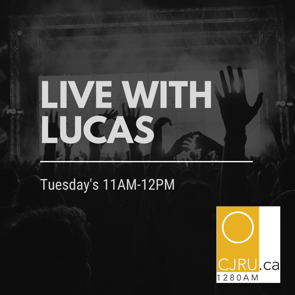 Featured Image for Live With Lucas hosted by Lucas Ianetta at CJRU