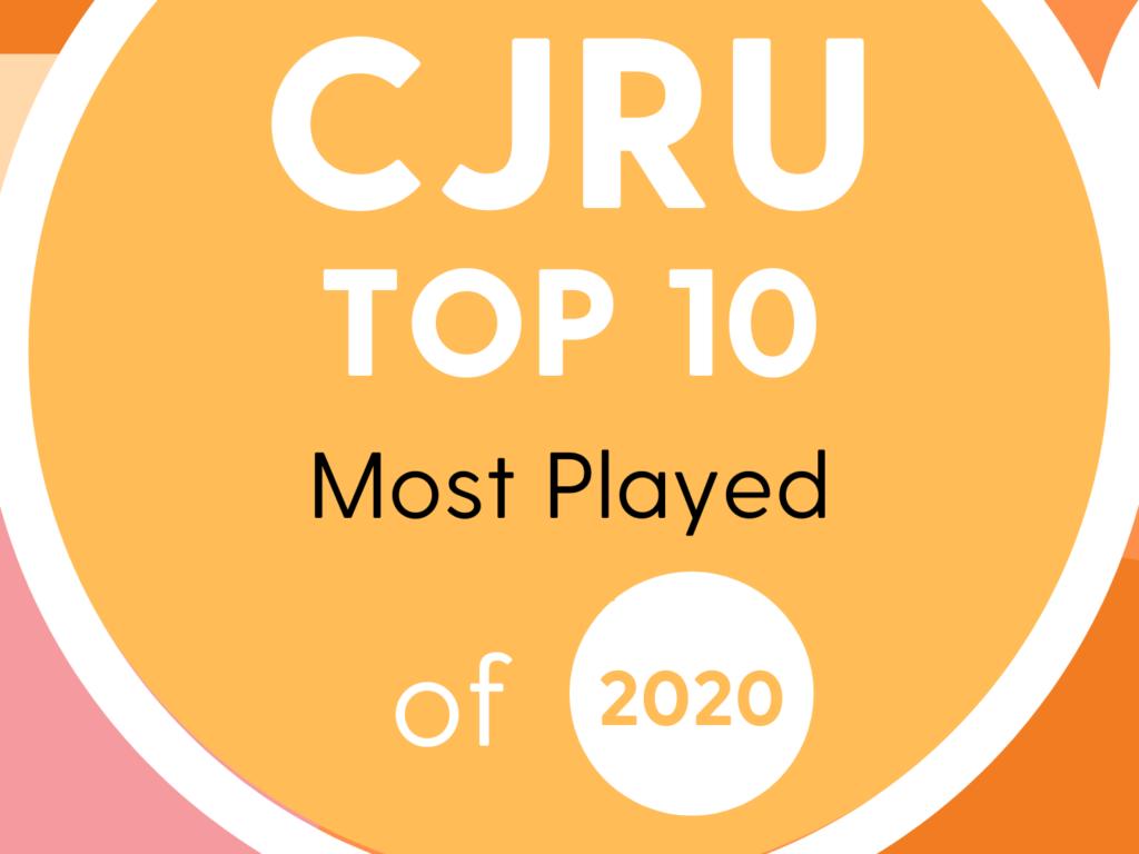 CJRU Top 10 of 2020 Graphic