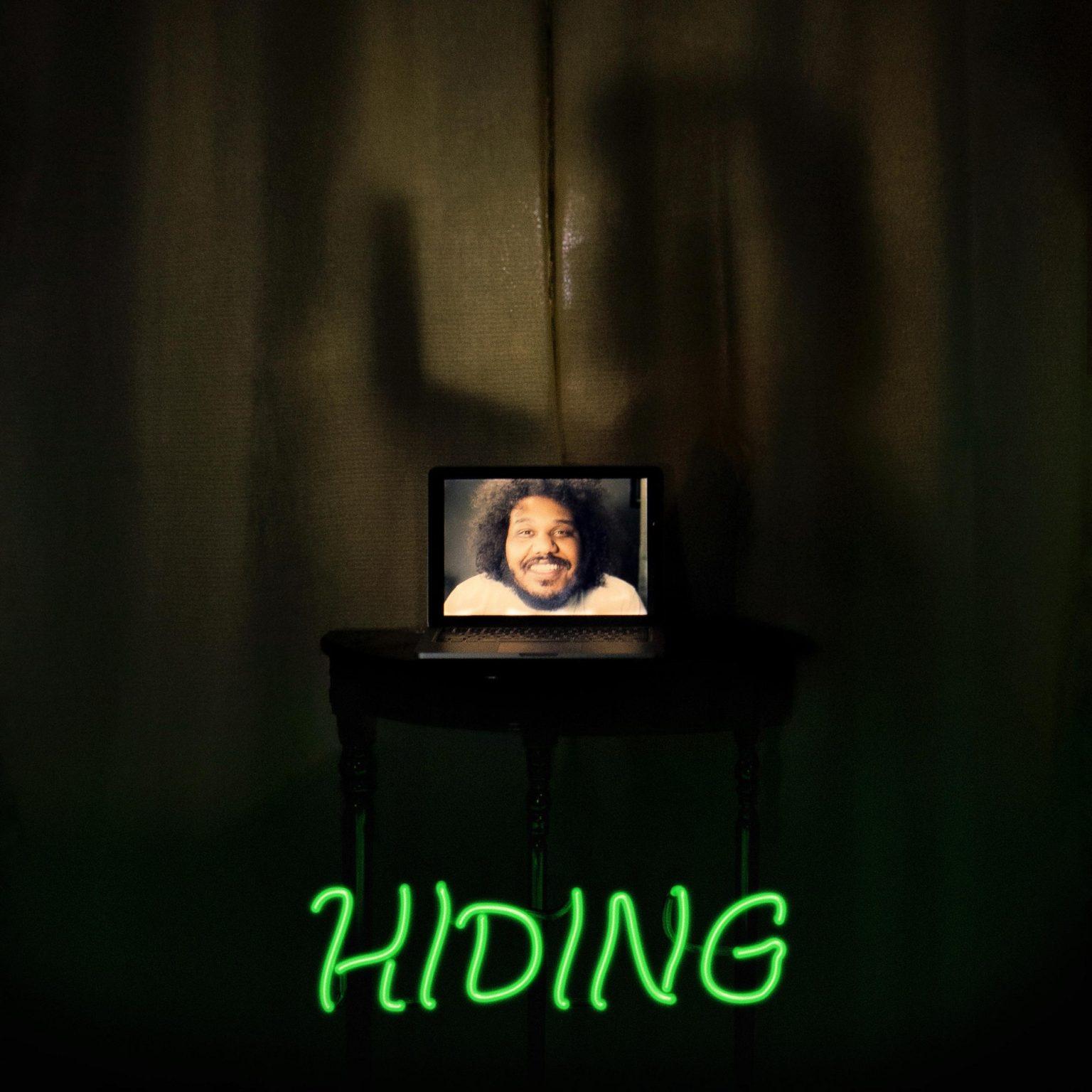 Michael Christmas - Hiding album cover