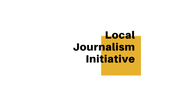 Local Journalism Initiative - title card