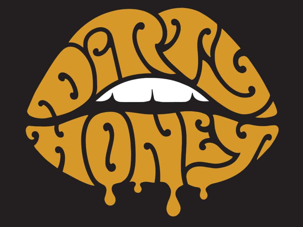 The cover to the band Dirty Honey's EP Dirty Honey