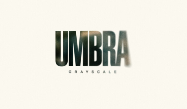 The cover for Grayscale's latest album, Umbra